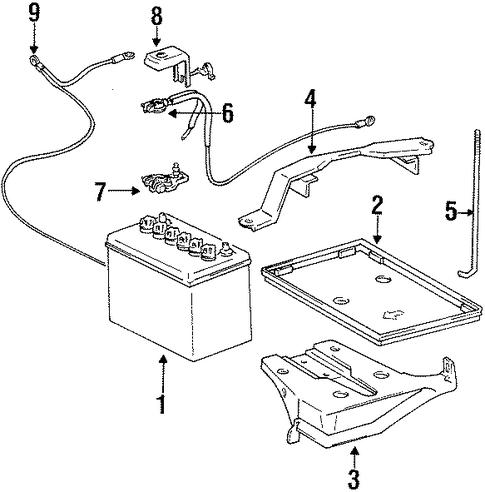 battery for 2000 chevrolet prizm base. Black Bedroom Furniture Sets. Home Design Ideas