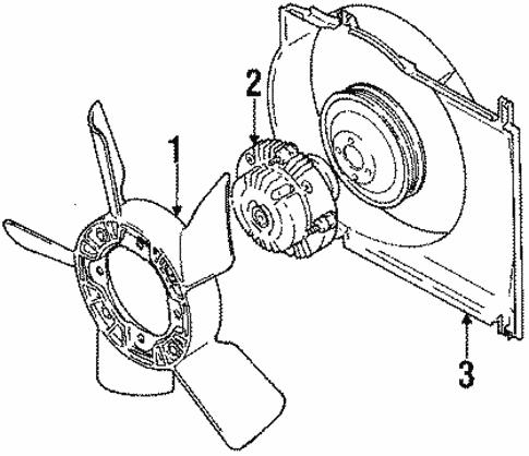 Cooling Fan For 1998 Chevrolet Tracker