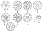 Wheel, Alloy - Lexus (42611-24870)