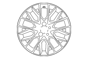 Wheel, Alloy - Lexus (42611-24610)