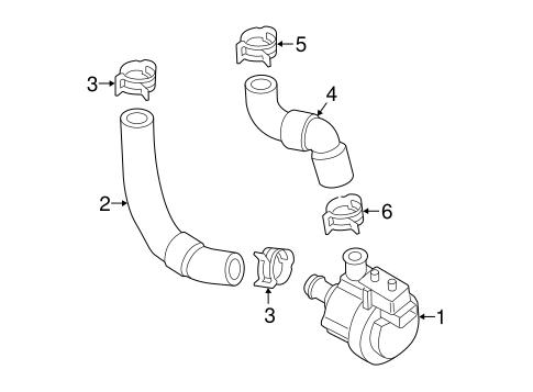 Water Pump For 2015 Volkswagen Golf