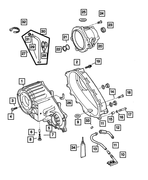 Case and Related Parts for 2004 Jeep Grand Cherokee #0