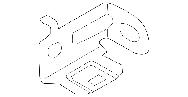 Junction Block Upper Bracket