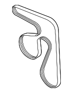 Serpentine Belt - Subaru (23780AA140)