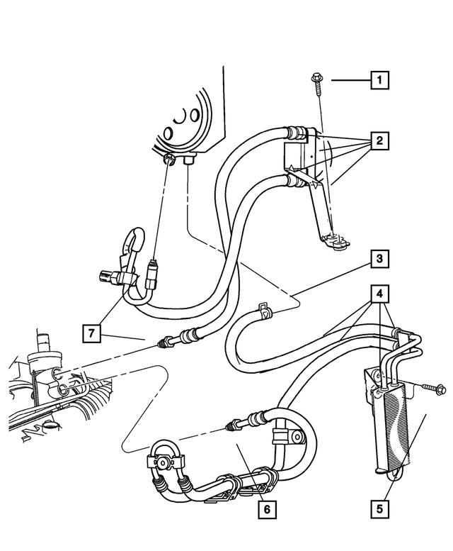 For Plymouth GTX Power Steering Pressure Line Hose Assembly Gates 29485KK