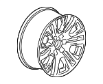 Wheel, Alloy - GM (84308400)