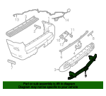 Trailer Hitch - Ford (1L2Z-17D826-AB)