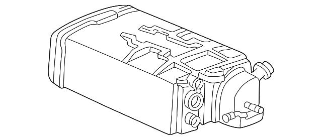genuine honda vapor canister 17011