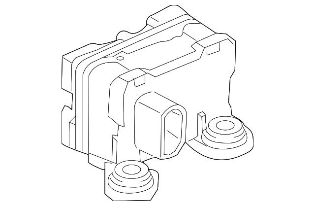 2008 2015 Land Rover Lr2 Stab Control Module Lr039907