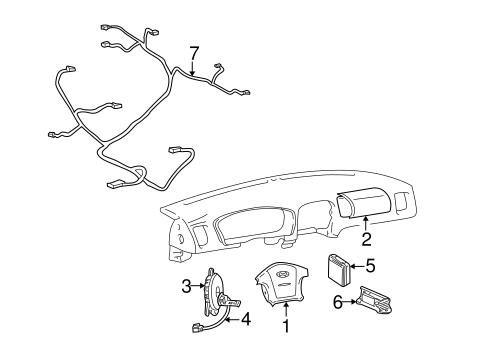 Air Bag Components For 2002 Kia Optima