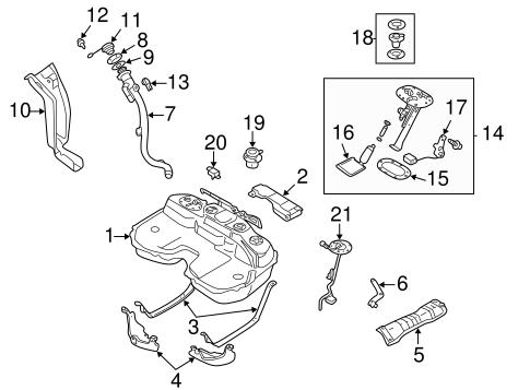 Fuel System Components For 2004 Subaru Impreza Subaru