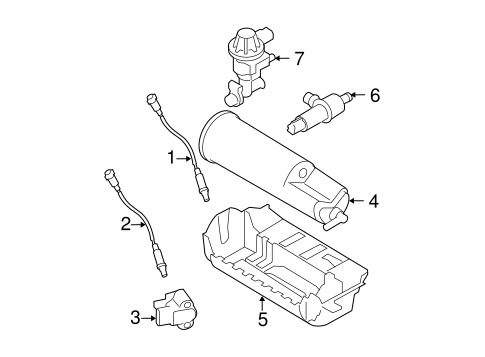 Emission Components For 1999 Ford Ranger