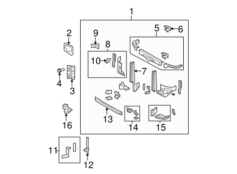 HVAC/AUTOMATIC TEMPERATURE CONTROLS for 2010 Toyota Tundra #1