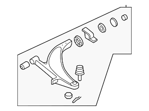 Lower Control Arm - Subaru (20202FE471)