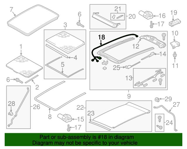 Webasto Sunroof Wiring Diagram on
