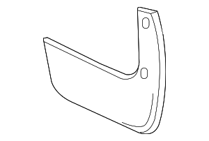 Mud Guard - Nissan (78812-ED900)