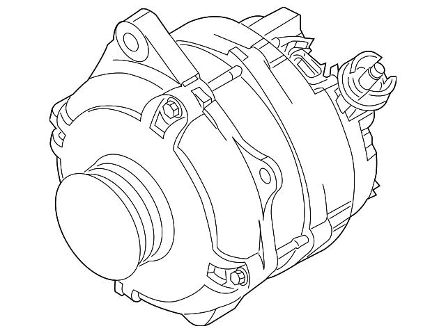 Genuine Ford Alternator Dg1z 10346 B