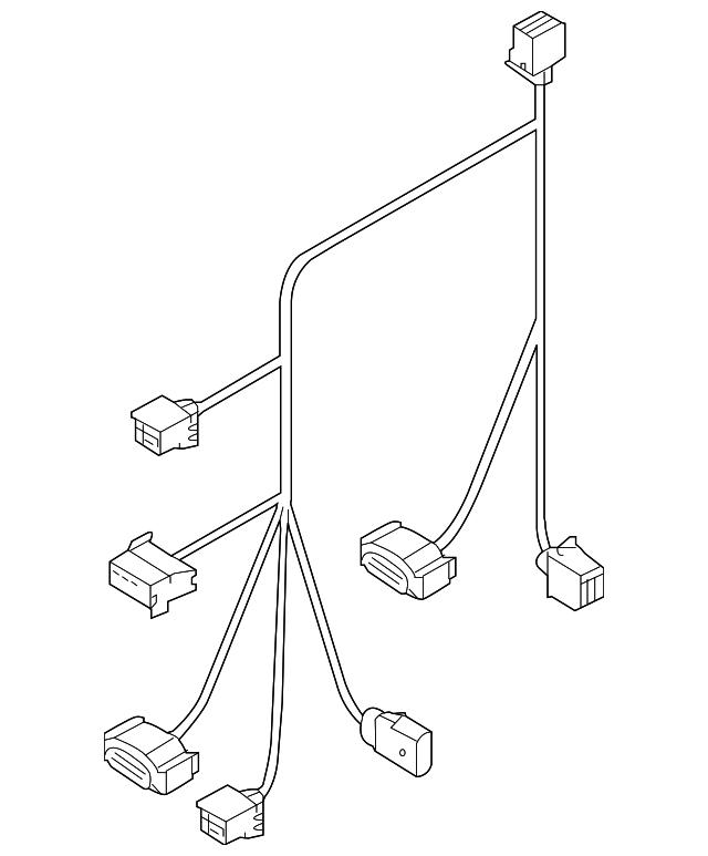 audi wire harness  4h0