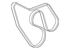 Serpentine Belt - GM (12576454)