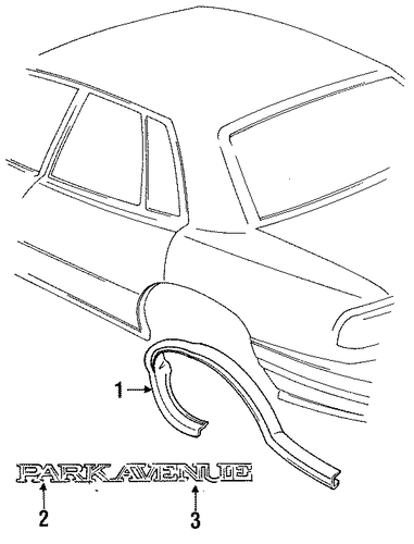 Buick Park Avenue Interior Parts Com
