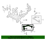 Lower Control Arm - GM (92253413)