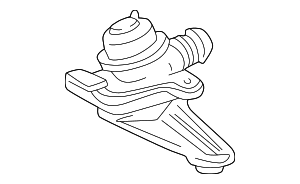 Shut-Off Valve - Mercedes-Benz (002-140-35-60)