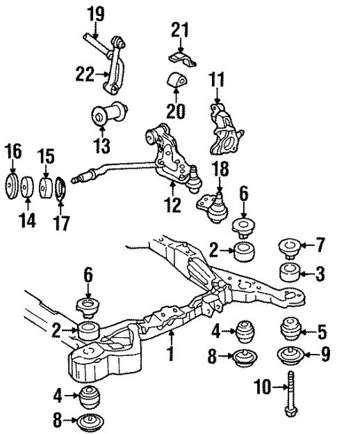 1995 Cadillac Seville Engine