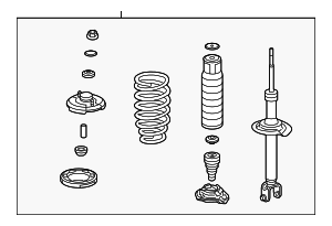 Acura Shock Absorber Assembly L Rear 52620tp1a01 also Acura Sub Wire R Opds 81162tl2a01 further Acura Weatherstrip R Front Door Inner 72335sea013 moreover Acura Seal L Rear Door Hole 72861seaj01 additionally  on acura tsx ignition coil
