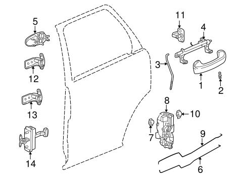 Saturn Vue Rear Door Parts Diagram Wiring Diagram And Ebooks