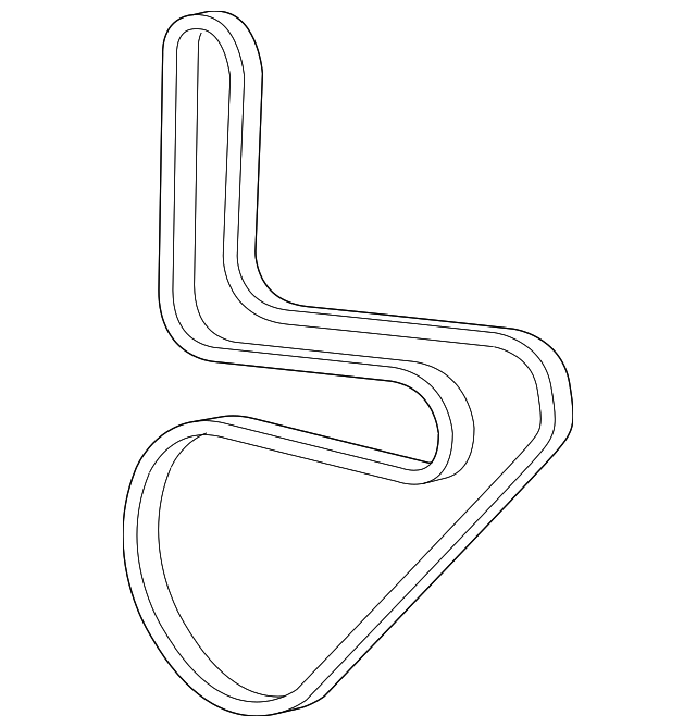 Supercharger Belt