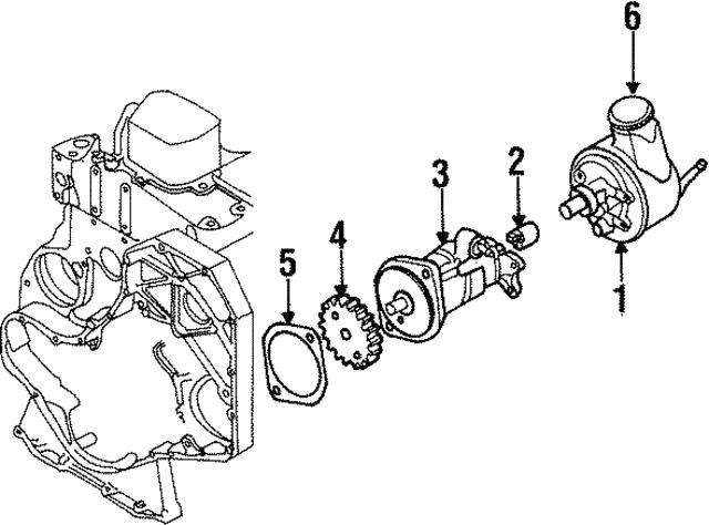 1989 1997 Dodge Pump 4856324