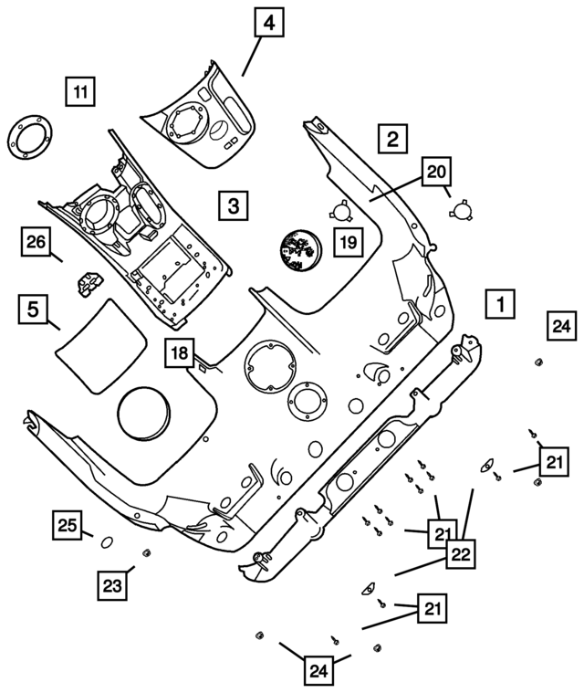 1992 Dodge Caravan Bulkhead Wiring Diagram