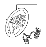 Steering Wheel - Nissan (48430-5ZW1A)