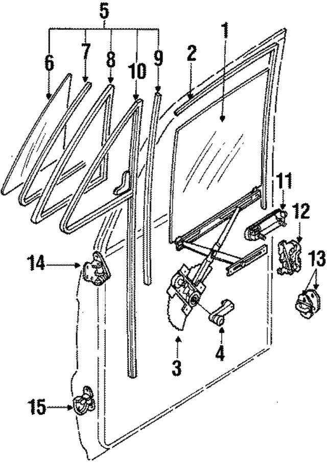 Remarkable Window Regulator Isuzu 8941882994 World Oem Parts Subaru Wiring Cloud Funidienstapotheekhoekschewaardnl