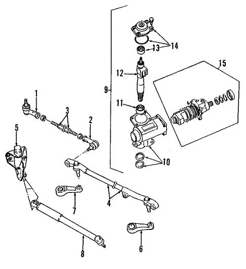Steering Gear For 1995 Isuzu Rodeo