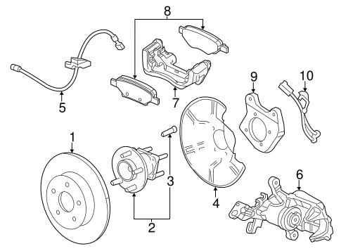 Oem 2012 Chevrolet Volt Anti Lock Brakes Parts