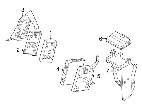 Electrical Components For 2011 Volkswagen Touareg