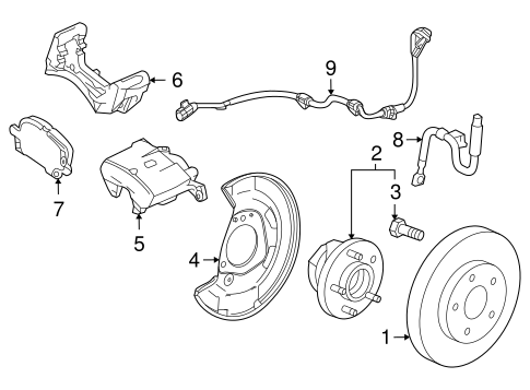 Brake Components for 2014 Chevrolet Cruze #1