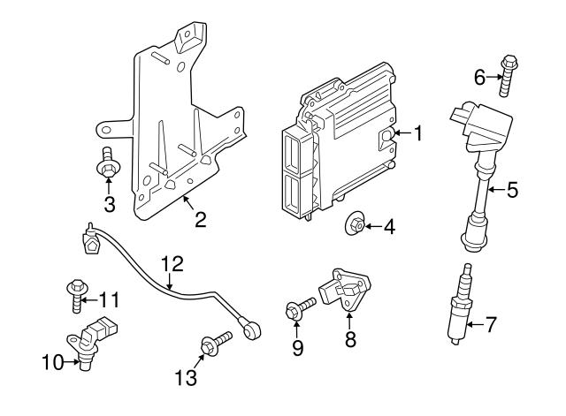 Genuine Ford Spark Plug HYFS-094-YEC