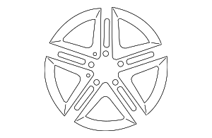 Wheel - Mercedes-Benz (176-401-00-00-7X21)