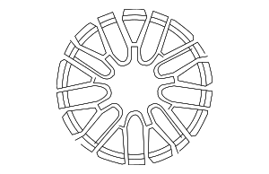 Wheel - Mercedes-Benz (176-401-09-00-7X71)