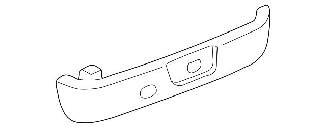 TOYOTA Genuine 71812-AA010-E0 Seat Cushion Shield