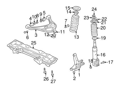 Suspension Components for 2001 Suzuki Grand Vitara   Suzuki Car PartsSuzuki Car Parts