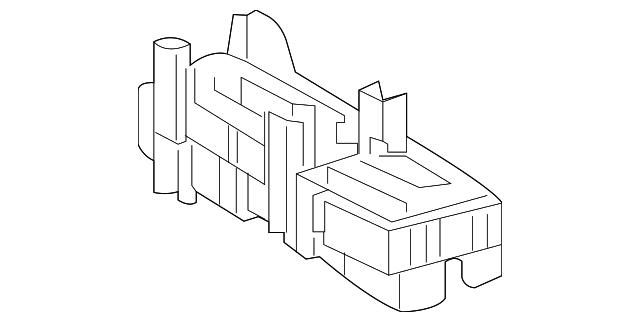 fuse box - lexus (82610-60120)