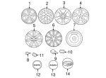 Wheel, Alloy - Subaru (28119AG05A)