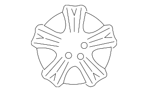 Wheel, Alloy - Subaru (28111AG05A)