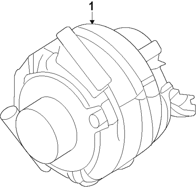 Alternator - Ford (CJ5Z-10346-B)