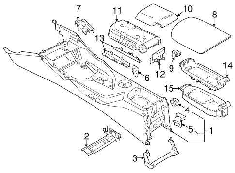 2013 Bmw X1 Fuse Box Diagram