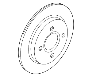 Rotor - Ford (C1BZ-2C026-A)