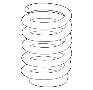 Coil Spring - GM (25876850)